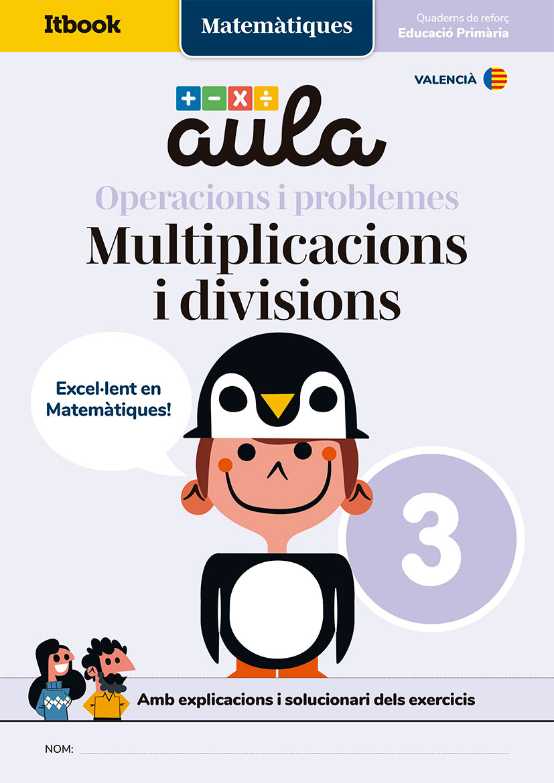 Cuadernos de refuerzo de matemáticas Aula Itbook 3